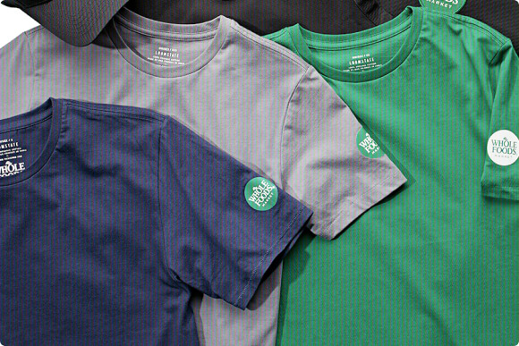 Loomstate custom crew t-shirts